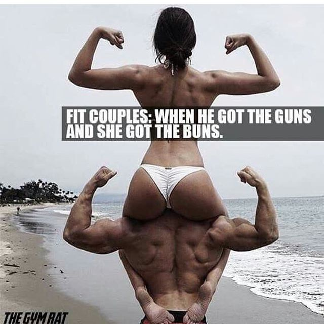 #booty #biceps #fitcouple #instafit #instafunny #funny #gym #meme # Bodybuildingu2026