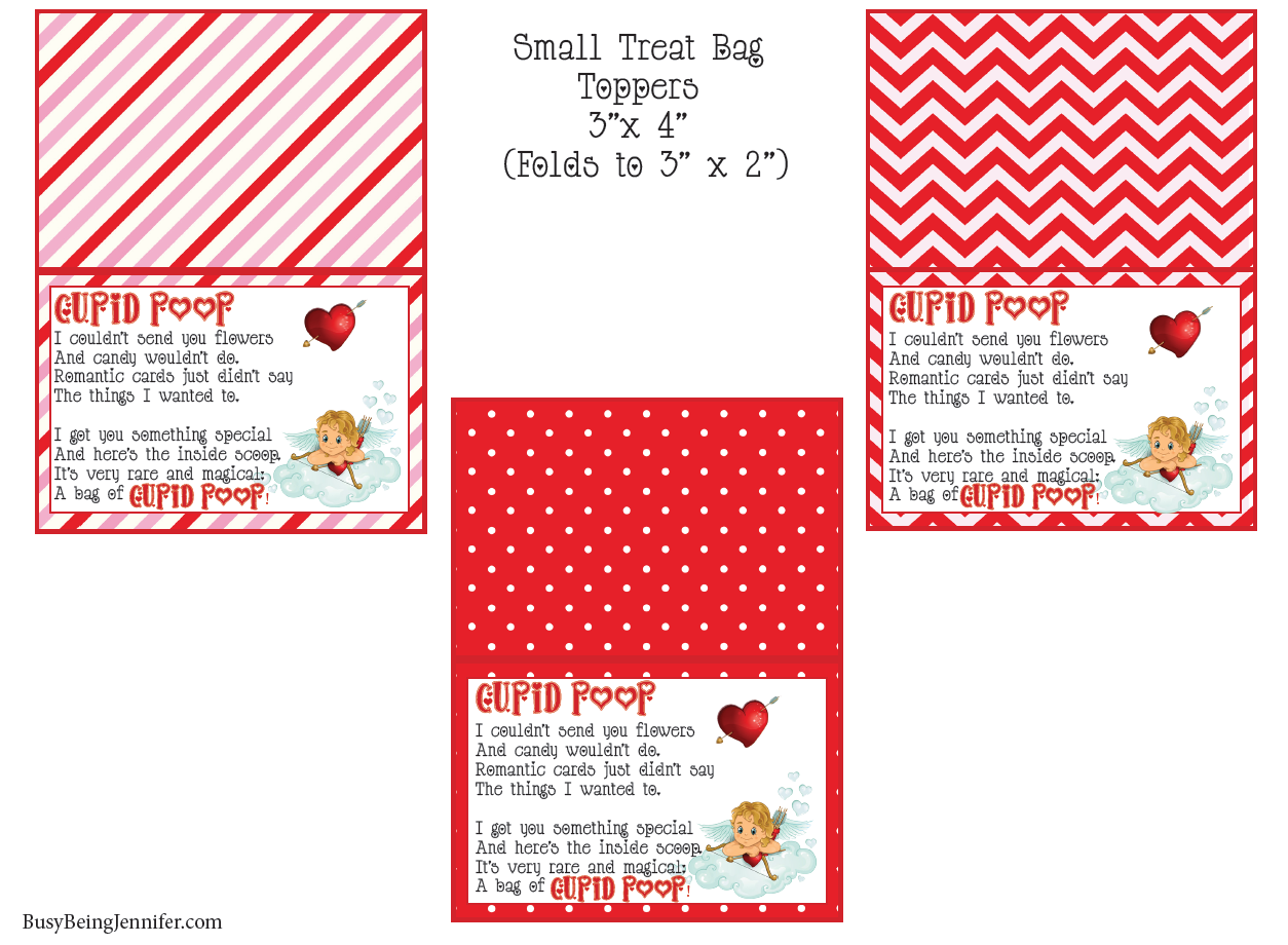 http://busybeingjennifer.com/2016/01/cupid-poop-valentines-treat-toppers-free-printable/