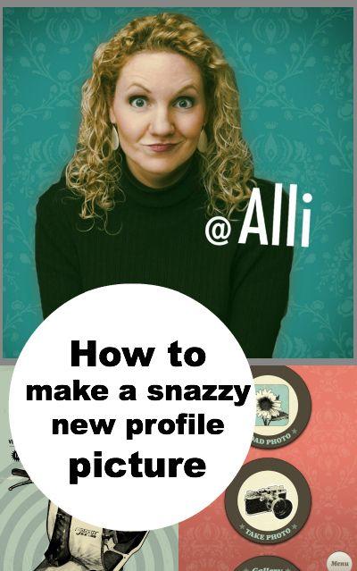 New profile picture ideas