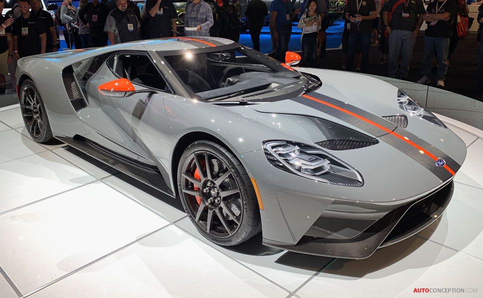 Ford Gt Carbon Series At The 2018 Sema Show In Las Vegas Bilar
