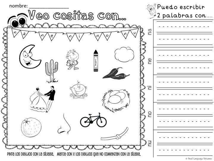 Silabas Para Colorear: Material-interactivo-de-silabas