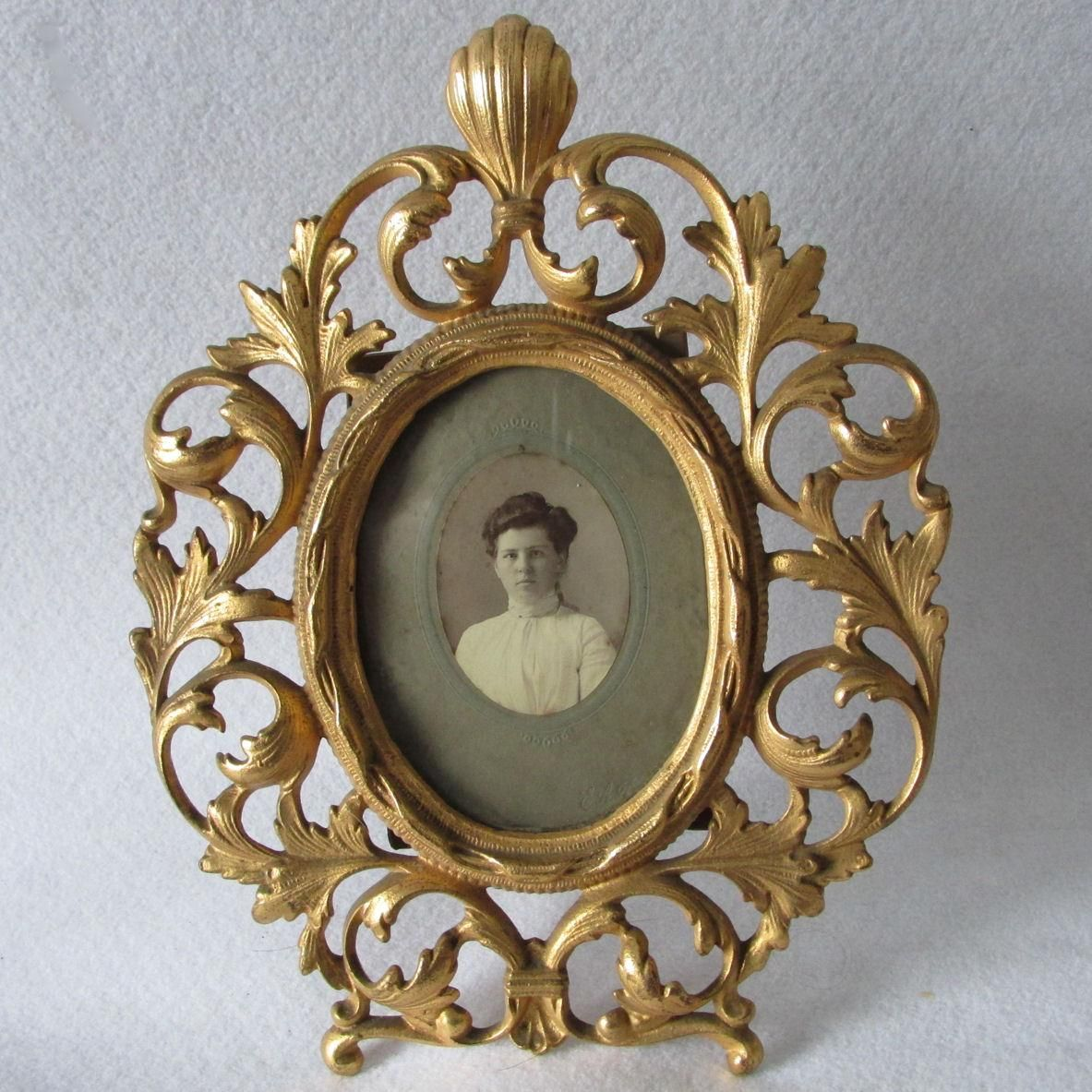 Lovely Antique Gilded Picture Frame, Vanity Mirror Frame | Vanities ...