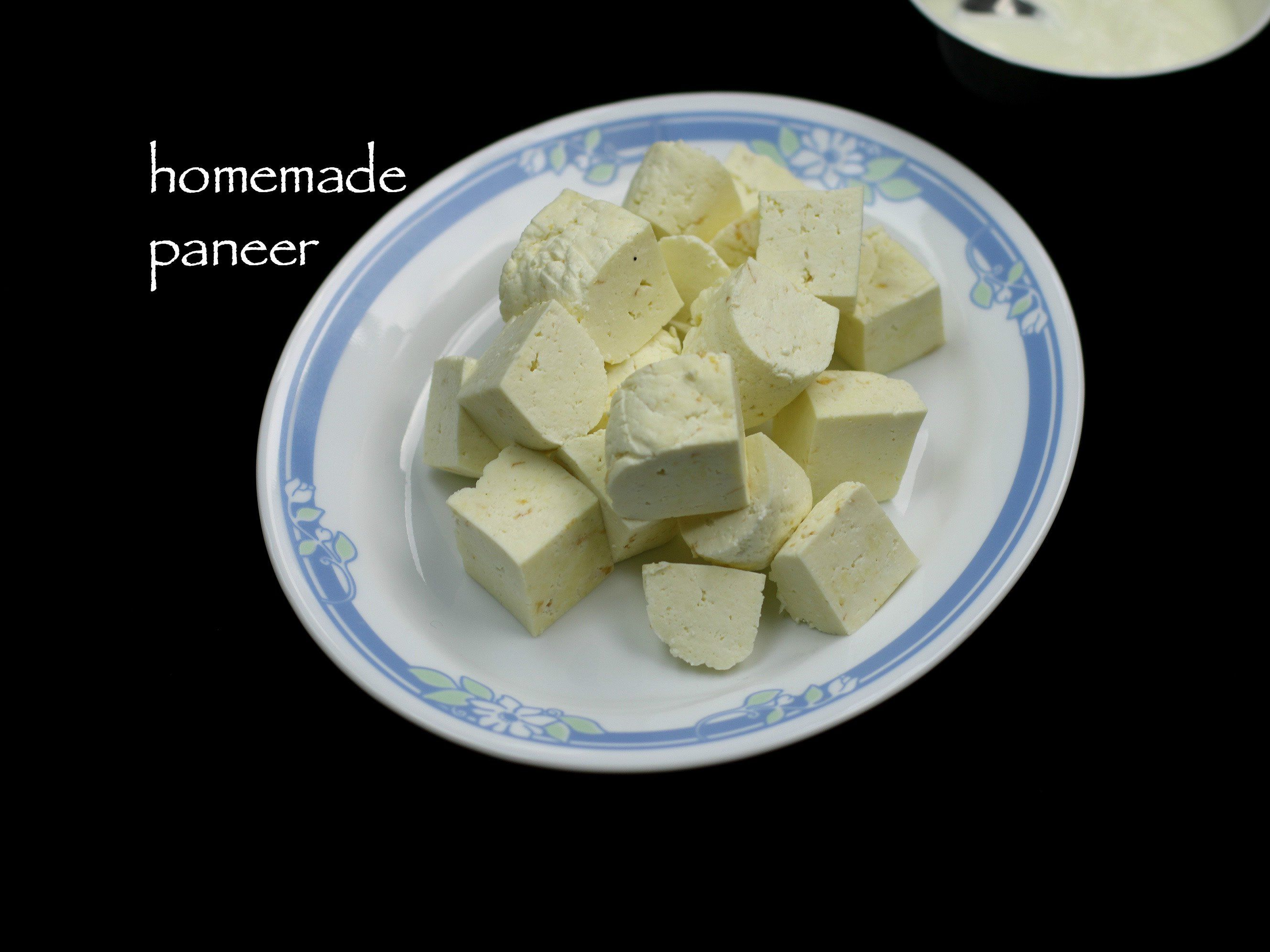 paneer recipe homemade paneer recipe cottage cheese recipe