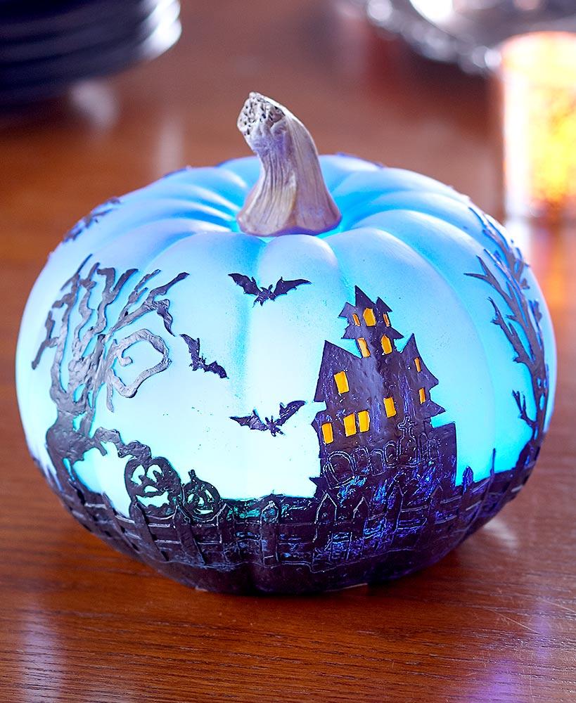 Color-Changing Halloween Pumpkins | Halloween pumpkins ...