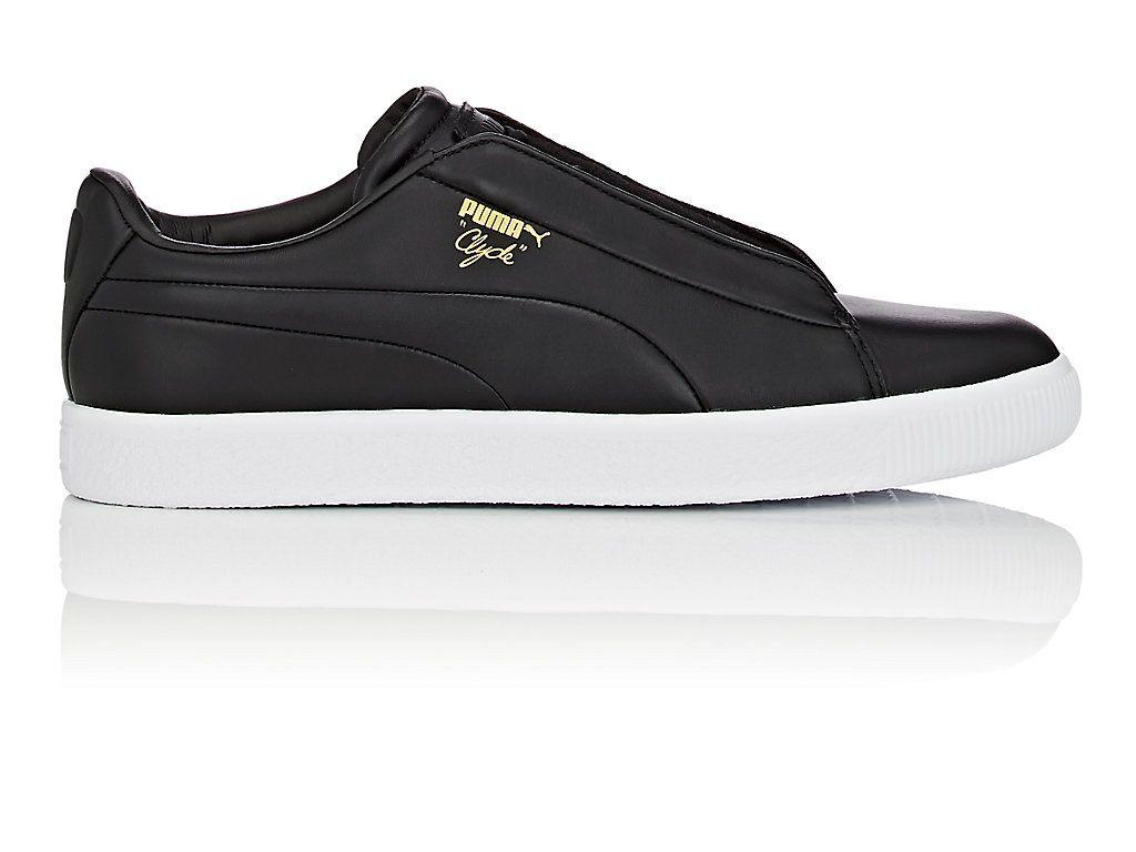 PUMA CLYDE FASHION LEATHER SNEAKERS.  puma  shoes    f647856ed