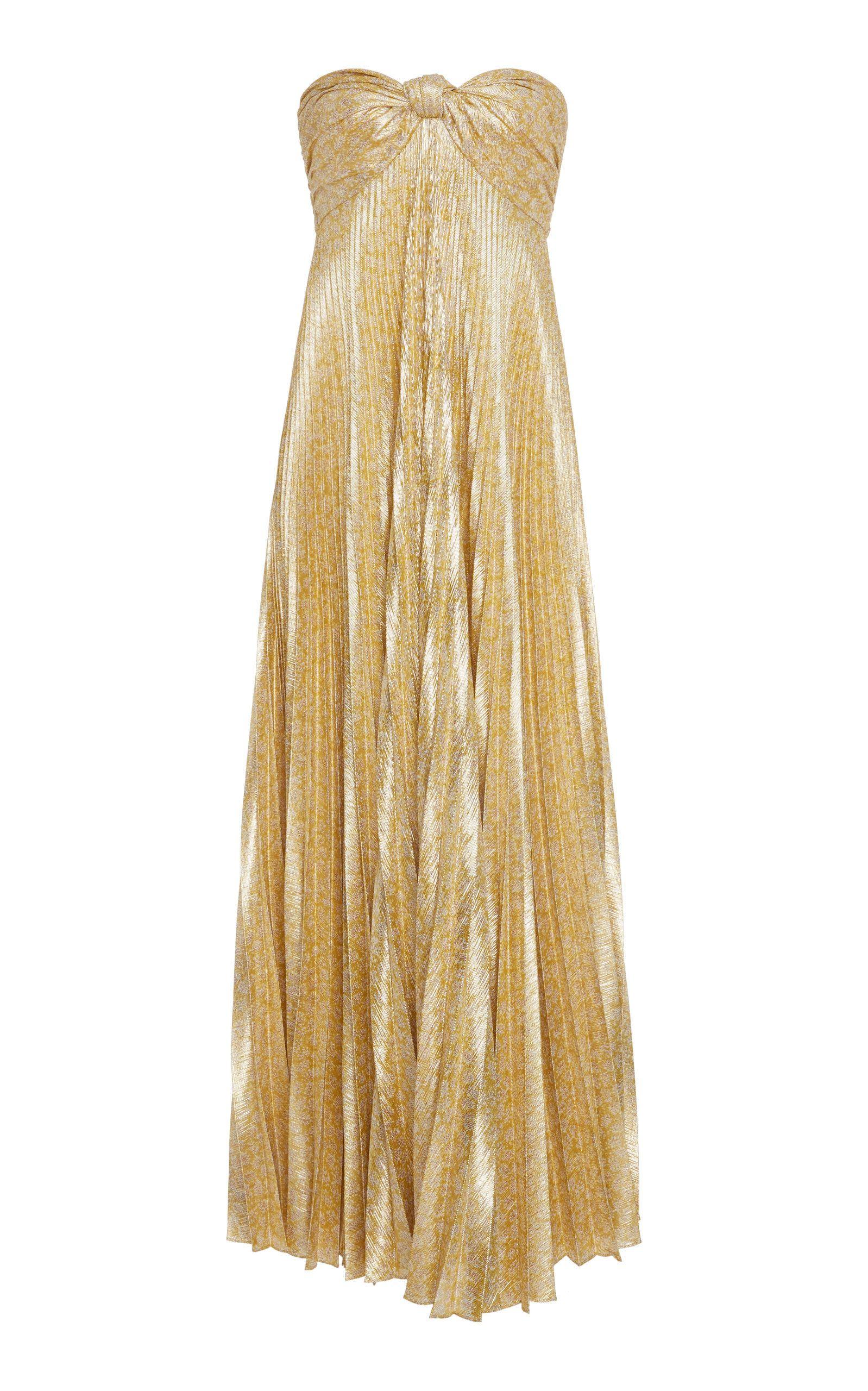a1286687436f Joya Plissé Maxi Dress by ALEXIS for Preorder on Moda Operandi
