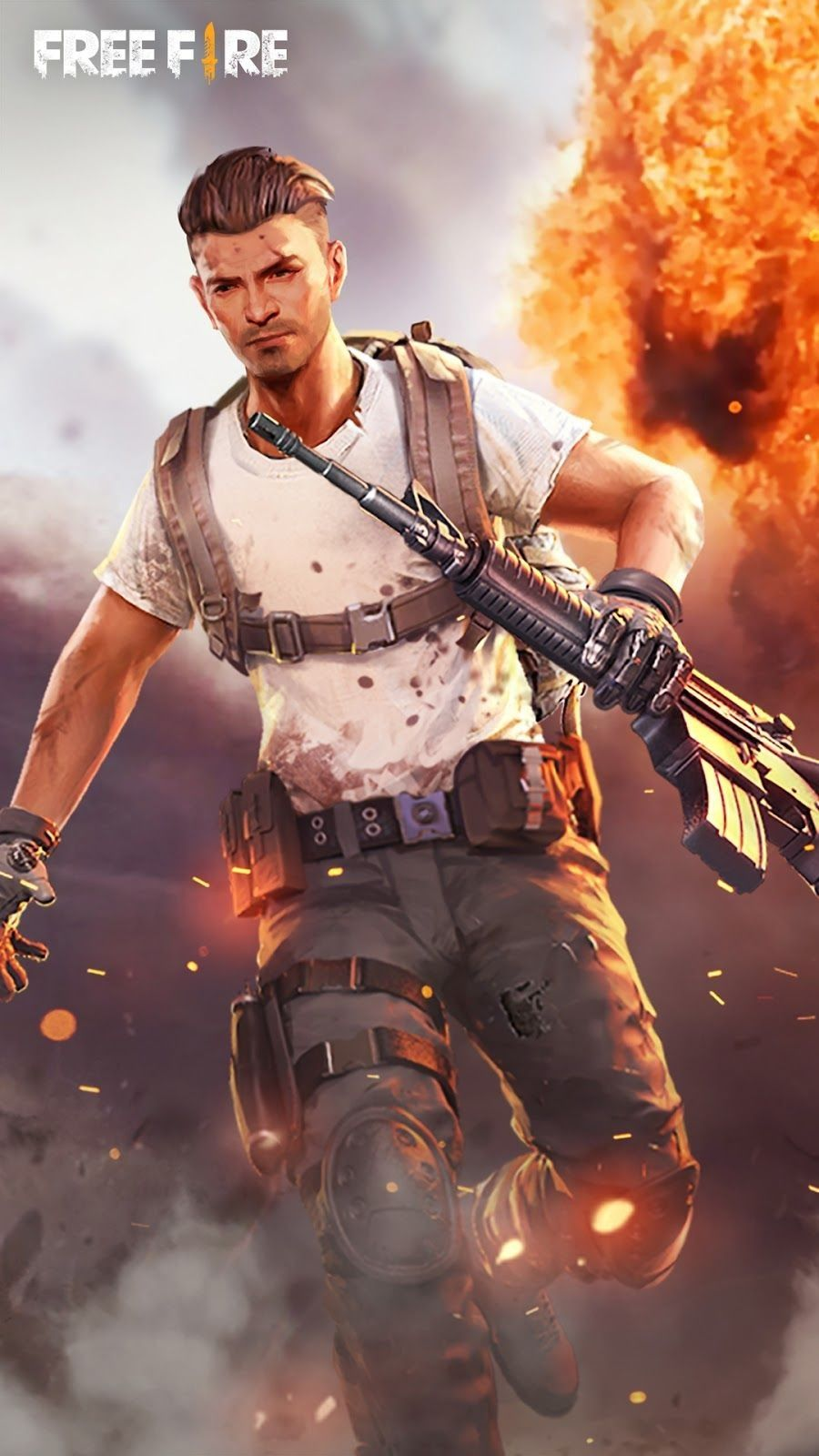 Wallpaper Free Fire Full Hd Fire Image Download Games Game Download Free