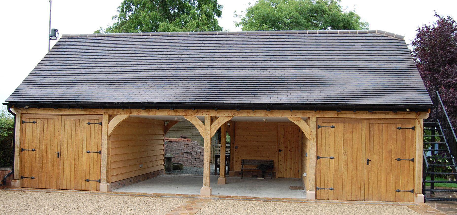 Oak Framed Garage - Google Search