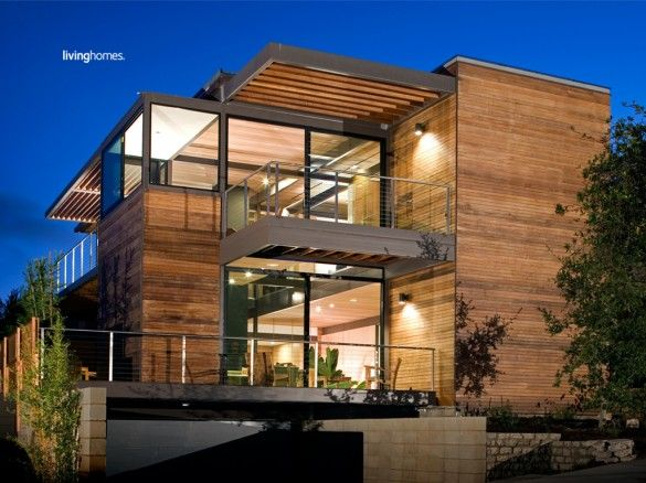 Steve Glennu0027s First LivingHome, The First LEED Platinum Home In The USA.  Very Cool