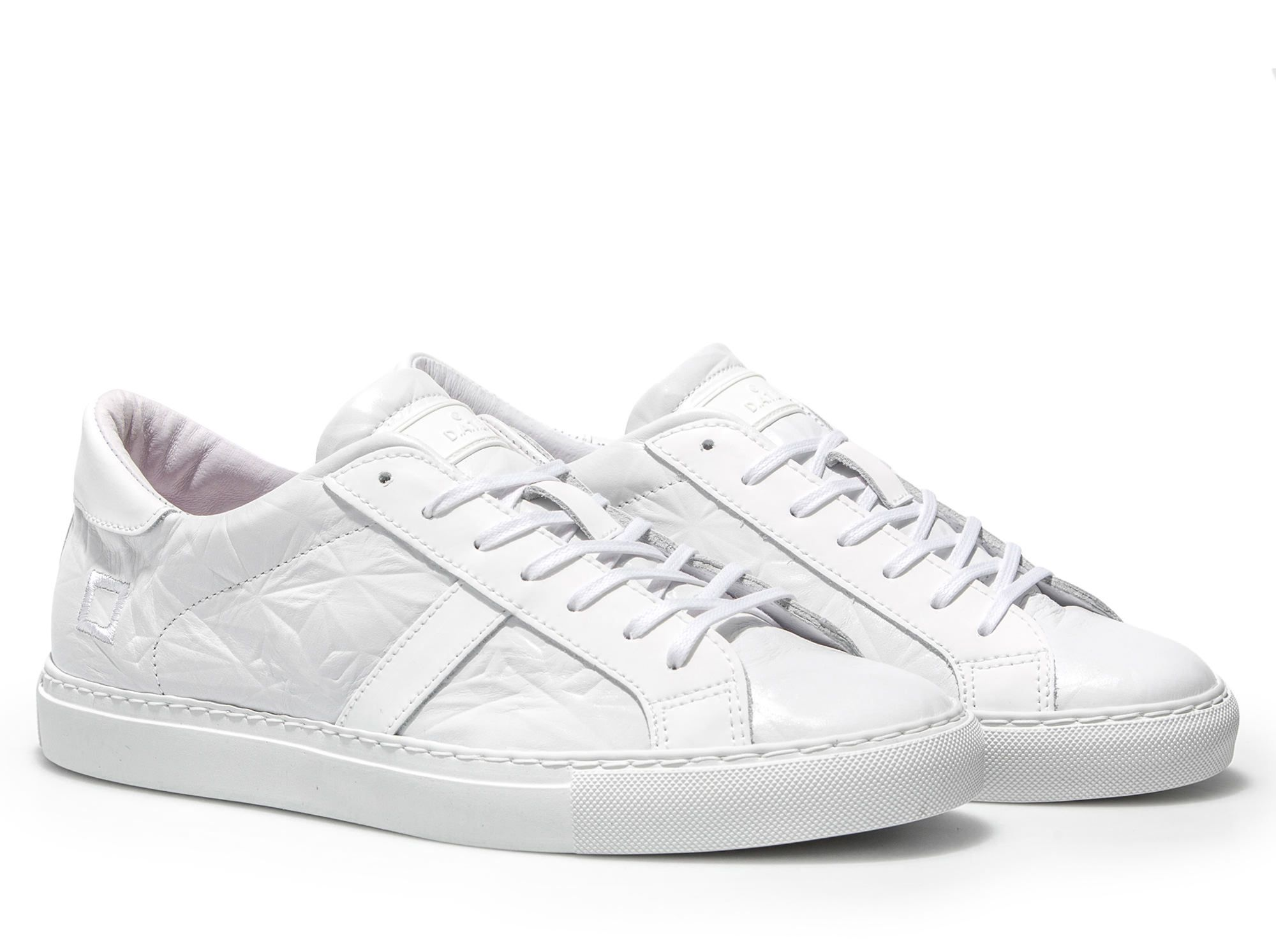 D.A.T.E. Sneakers NEWMAN LOW 3D WHITE | Date shoes
