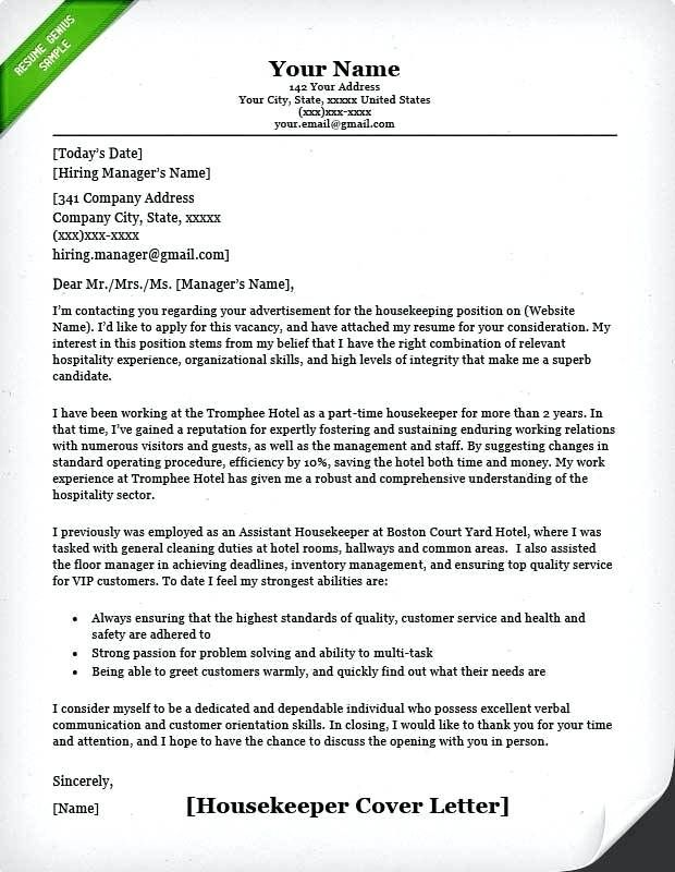 Hospitality Cover Letter Entry Level from i.pinimg.com