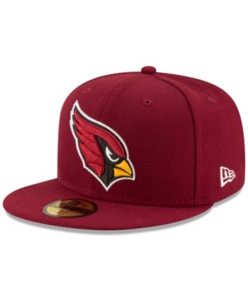 check out 67f2b 85741 New Era Arizona Cardinals Team Basic 59FIFTY Fitted Cap - Red 7 1 4