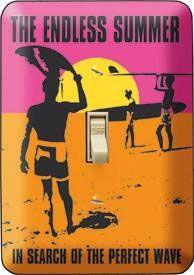Surf & Beach Decor - Endless Summer Light Switch Cover