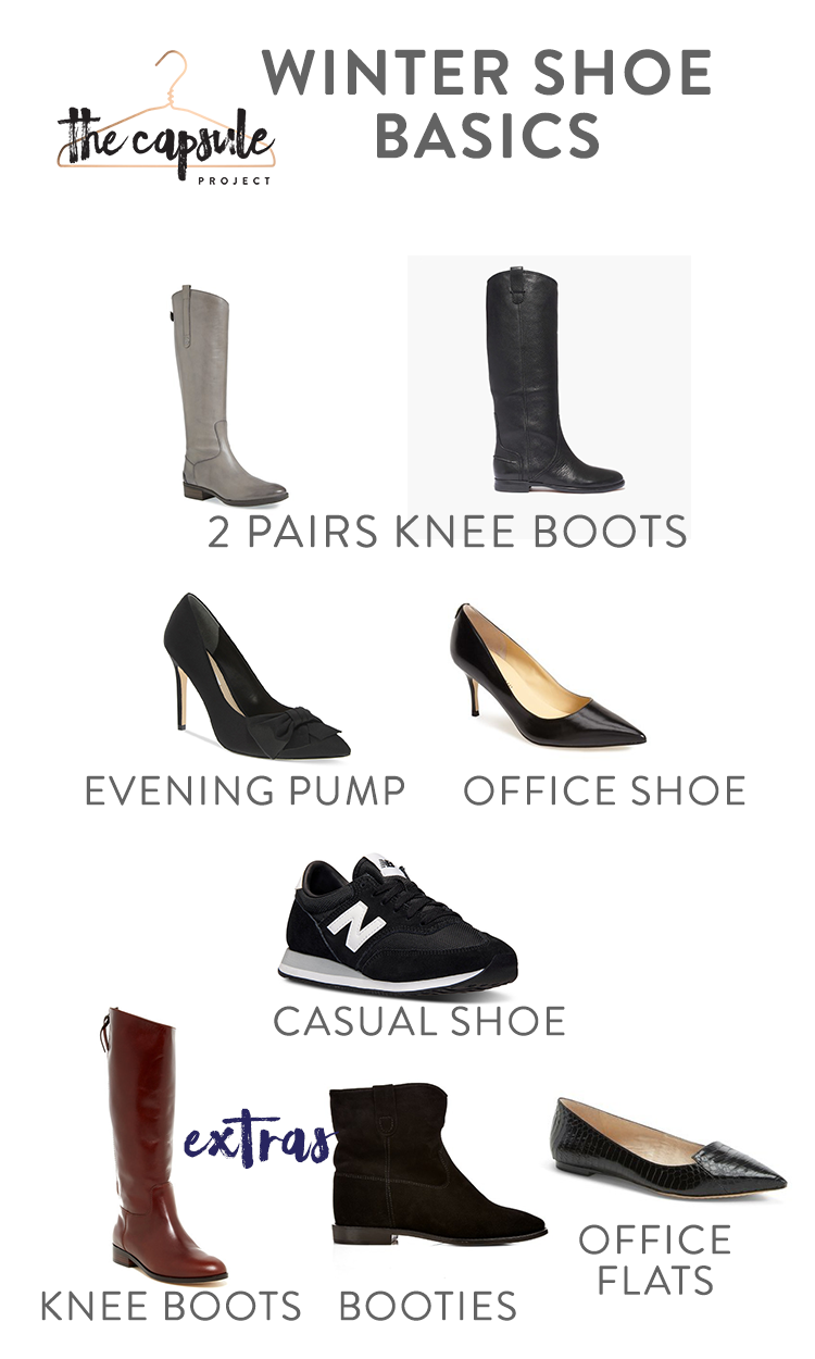 The Complete Shoe Wardrobe With Images