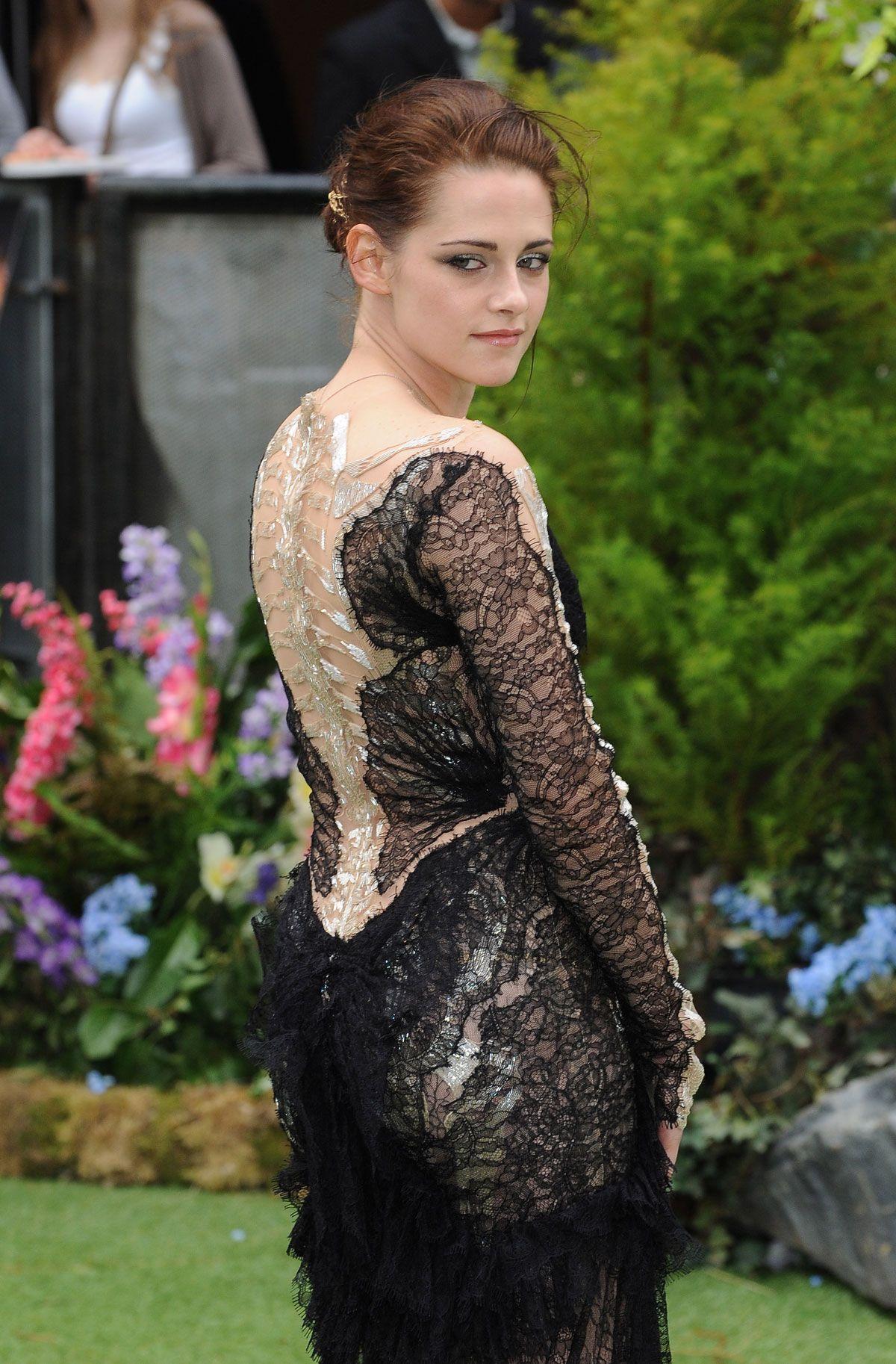 Kristen Stewart White Dress July 2017