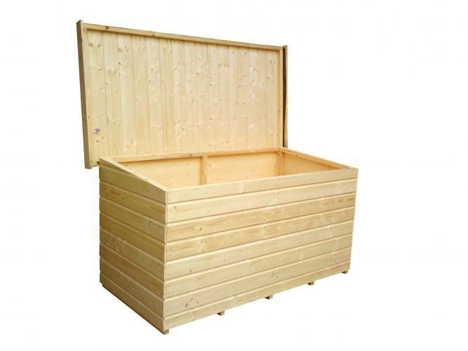 Ba l garden chest armarios cat logo garden house - Armarios de madera para jardin ...