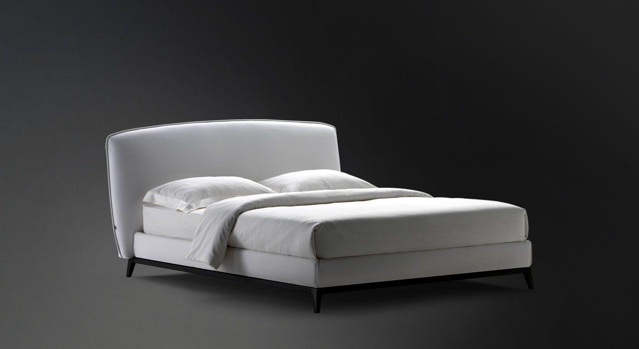 Divano Letto Flou Matrimoniale.Letto Matrimoniale Olivier Flou Leather Bed Bed Bed Furniture