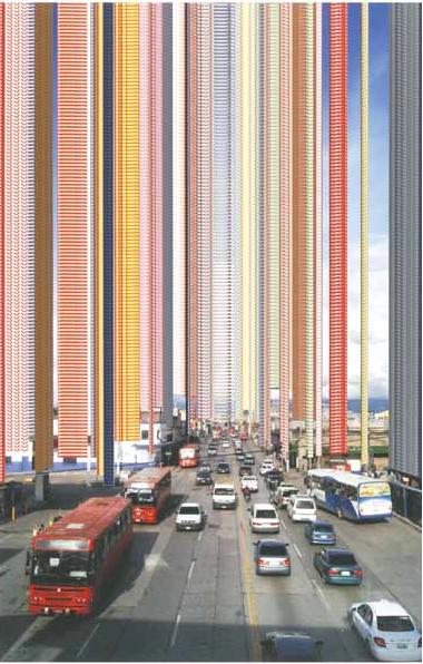 Autor: Jorge Luis Linares // Guatemala // Contaminación visual, // Fotografía digital, impresión con tinta pigmentada/papel 100% algodón
