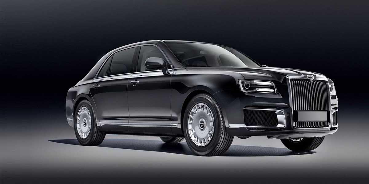 Aurus Senat, el primer auto de súper lujo made in Rusia