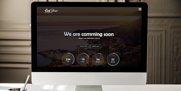 Coming Soon Template by Graphicsauthor Templates