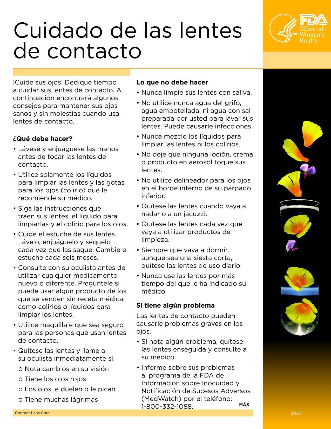 ad1f2f873e Riesgos al usar lentes de contacto | Zona Selecta | Pinterest ...