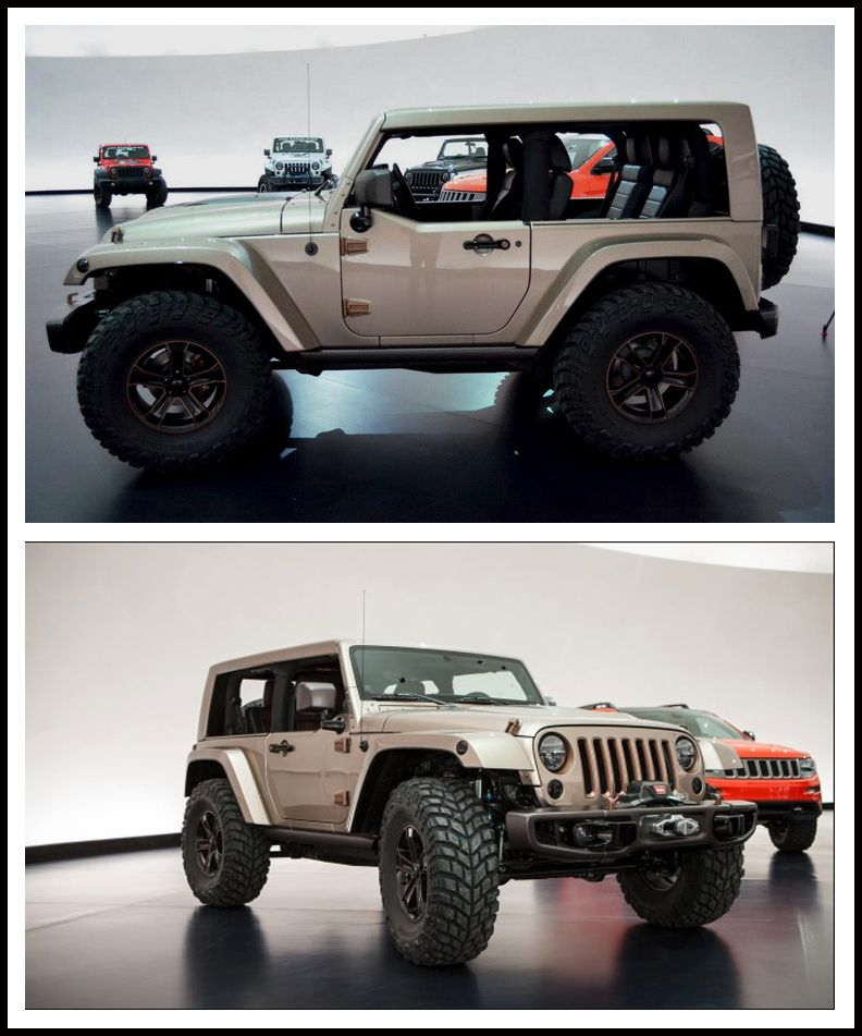 Is This The Concept For New 2018 Jeep Wrangler