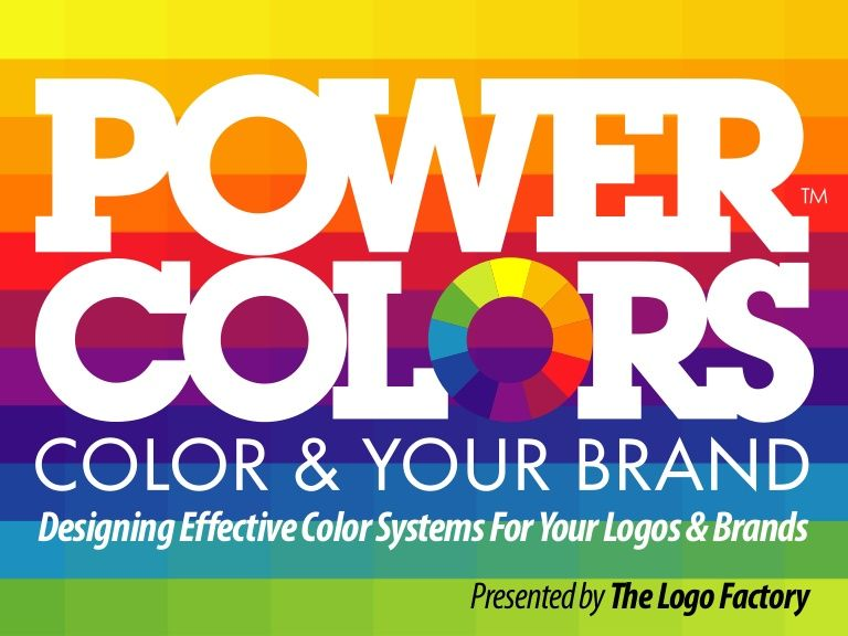 Designing effective color systems for your logos brands