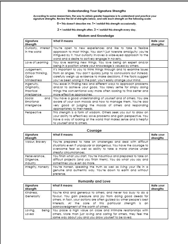 Download mental health worksheets for adults from Between Sessions