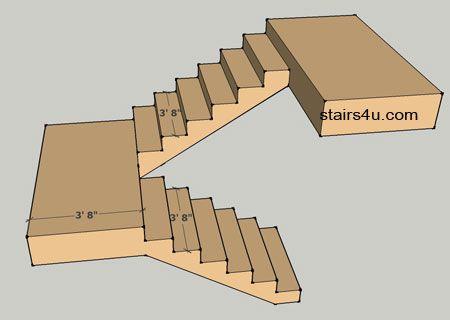 Best Stair Landing Minimum Width Jpg 450×320 Staircase 400 x 300