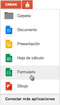 Creación De Formulario En Google Drive Google Google Drive Formularios
