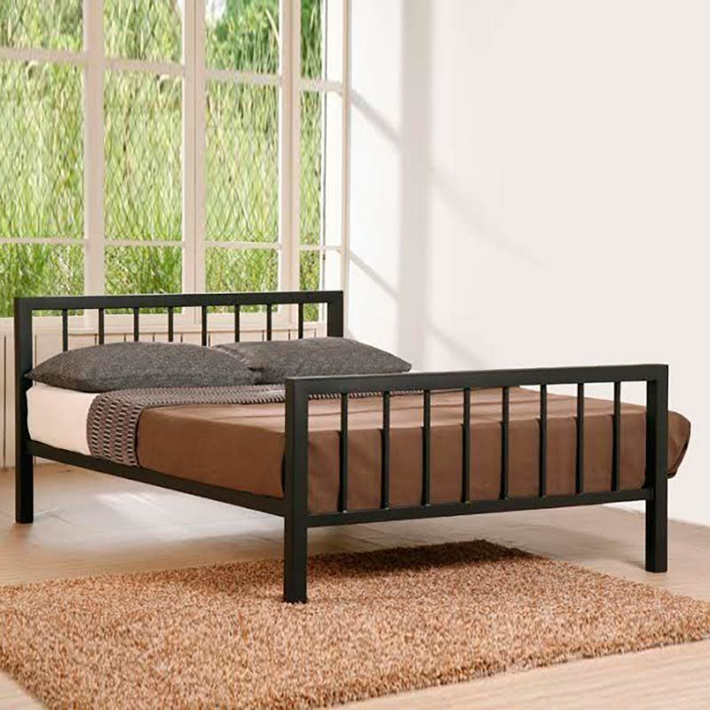 Metro Metal Frame Bed (Size/Colour Options) by Time Living - 4ft ...