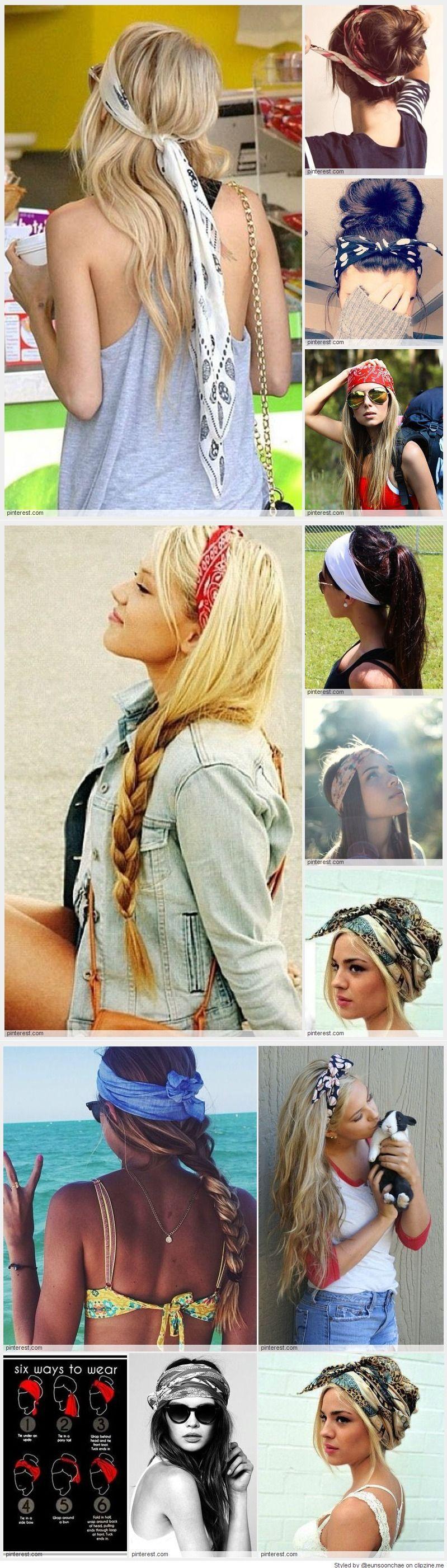 Bandas y algo mas accesorios pinterest bandanas hair style