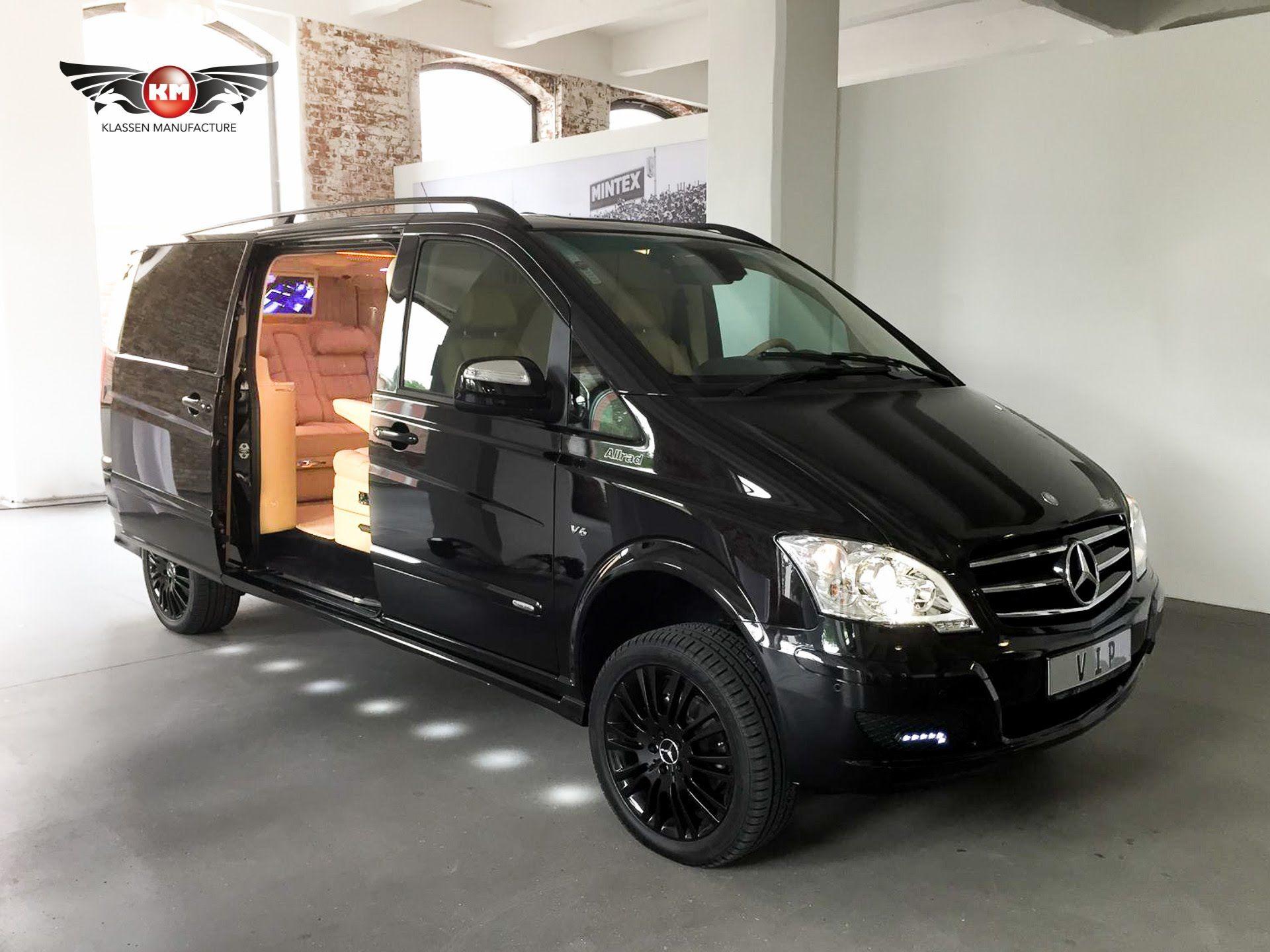 Mercedes Benz Viano 3 5 V6 4matic Vip Edition Luxury Van Conversion By Mercedes Benz Viano Mercedes Benz Vito Luxury Van