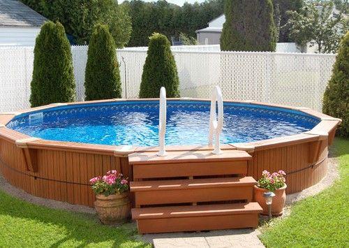 Poolumrandung Pool über dem boden, Pool umrandung
