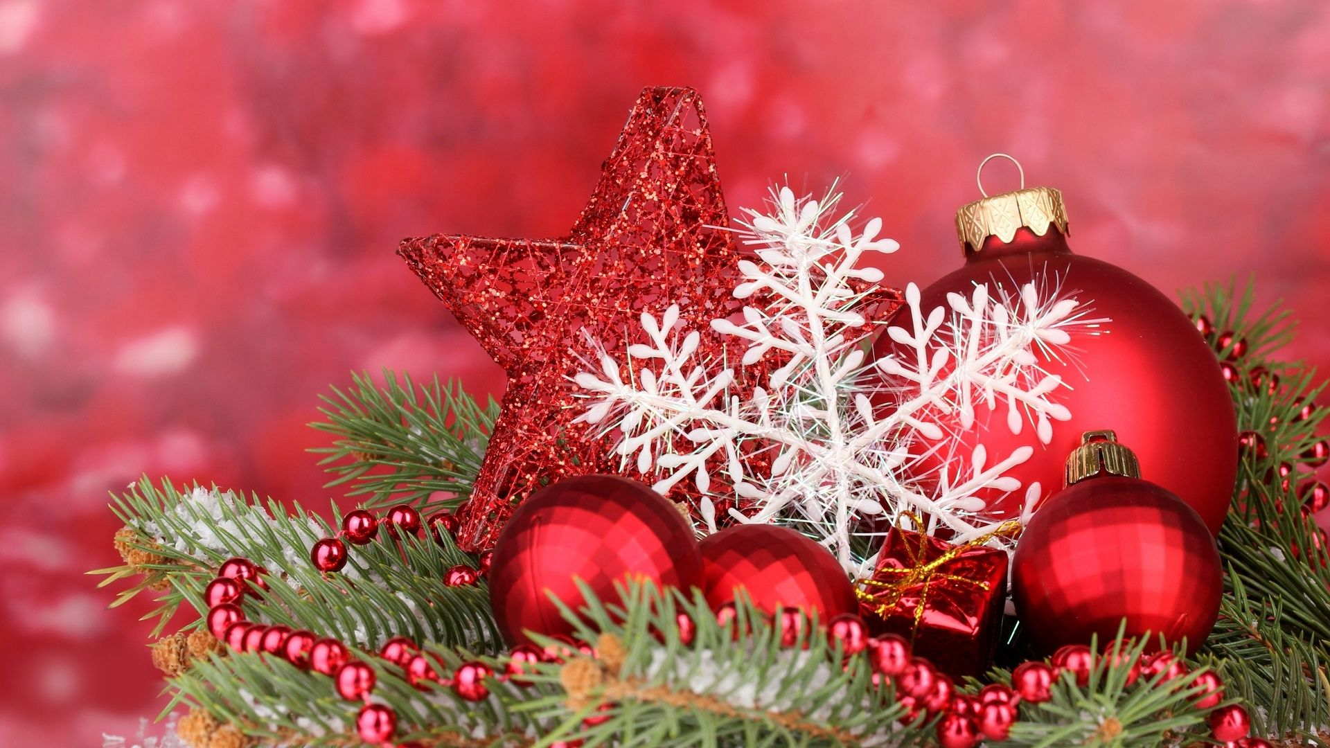 christmas ornaments Christmas desktop, Christmas desktop
