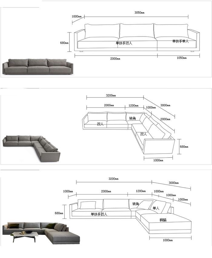 l shaped sofa design, fresh style living room furniture, Life ...