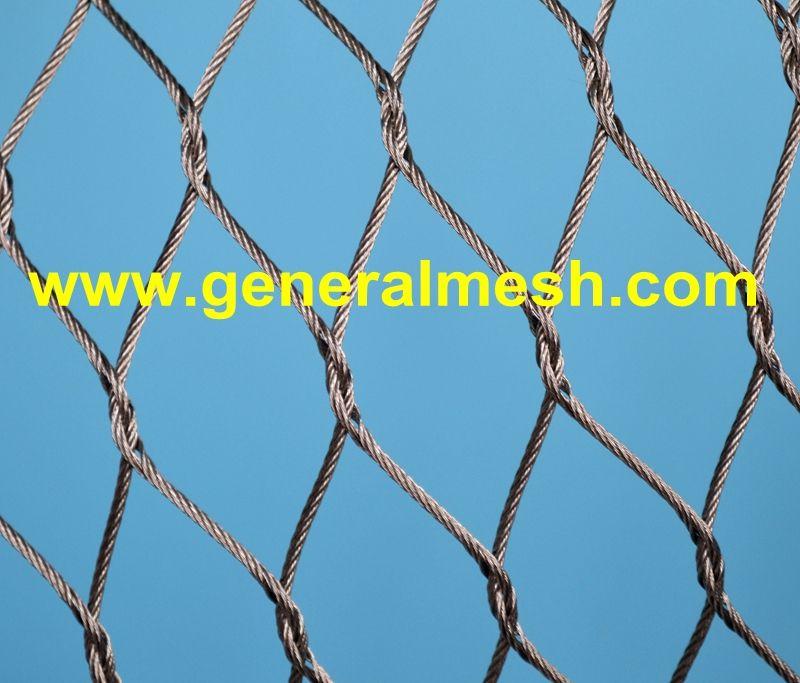 Plasa Cabluri Inox Specificații Diferite Diametre Ale Cablurilor 1 2 Pană La 4 0 Mm Dimensiuni Diferite Ale Ochiurilor Stainless Steel Cable Stainless Steel
