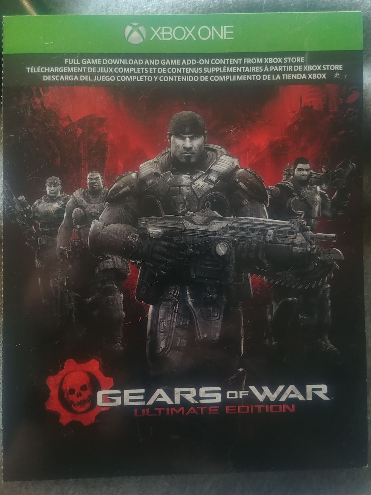 Gears Of War Ultimate Edition Is The Remaster Of The Original Game And Includes Rebuilt Cinematics New Achievements As Well As N Gears Of War War Heroes War Gears of war ultimate edition xbox