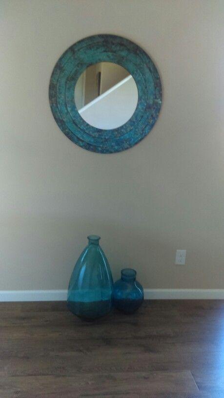 Nicole Miller Wall Mirror : nicole, miller, mirror, Nicole, Miller, Mosaic, Mirror, Inspiration, Color, Pallette., Akward, Between, Round, Bathroom,, Neutral, Colors,, Decor