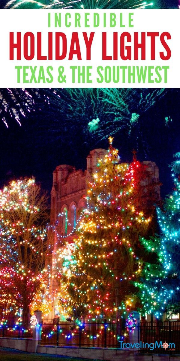 Where To See Christmas Lights.Best Christmas Lights In Texas And The Southwest Texas
