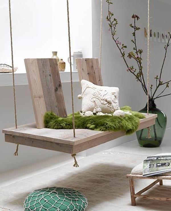 Kreative möbel selber machen  einfache Schaukel zum Selbermachen | Möbel selber bauen ...