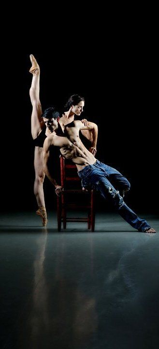 Adela Ramirez and Francisco Bosch, English National Ballet