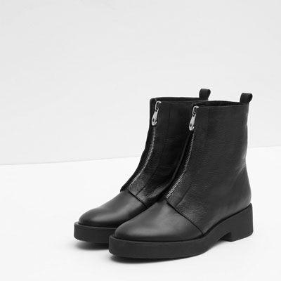Botki Z Suwakiem Zobacz Wiecej Buty Kobieta Boots Women Shoes Shoe Boots