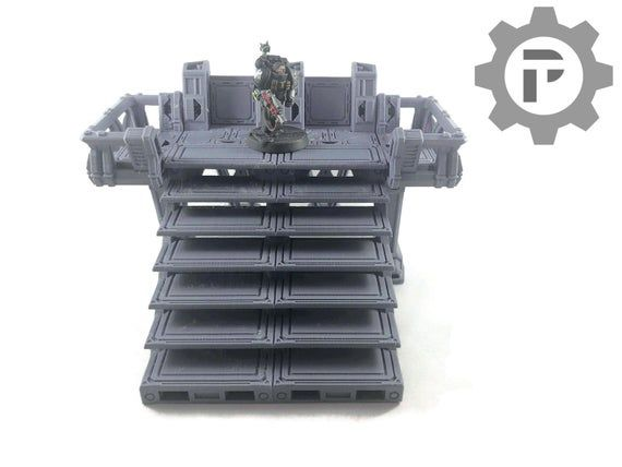 Dragons Rest Sci Fi Modullar Observation Platform 28mm Wargame