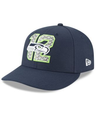 reputable site cd502 a961a New Era Seattle Seahawks Draft Low Profile 59FIFTY-fitted Cap - Blue 7 1 2