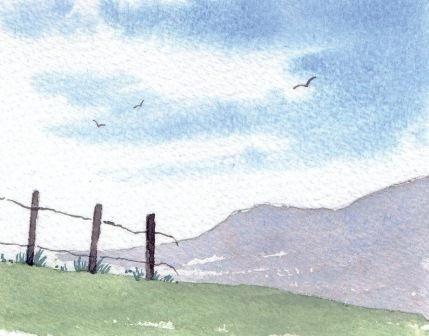 Anfänger lernen, Acryl zu malen Aurora Borealis Landschaft   Die Künste... - einfachesmalen.tk   Einfaches Malen #easywatercolorpaintings