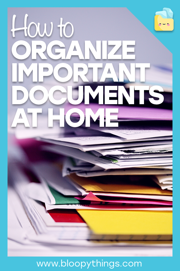 How to Organize Important Documents at Home  #importantdocuments Here's a step-by-step guide to help you organize important documents you have at home and create a system that's easy to stick to.   #organize #declutter #home office #importantdocuments