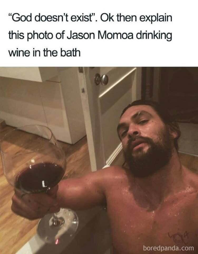 Jason Momoa Taking A Bath Make Room For Me With Images