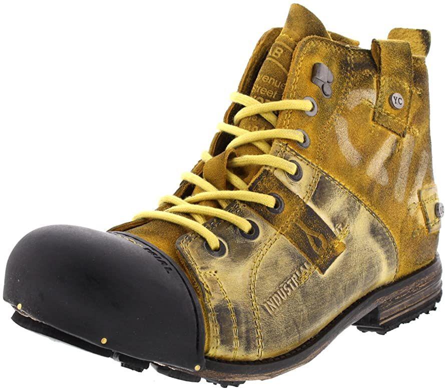 Yellow Cab Y15012 Yellow Bottes Pour Homme Jaune Yellow 45 Amazon Fr Chaussures Et Sacs Bottes Cuir Homme Bottes Bottes Homme
