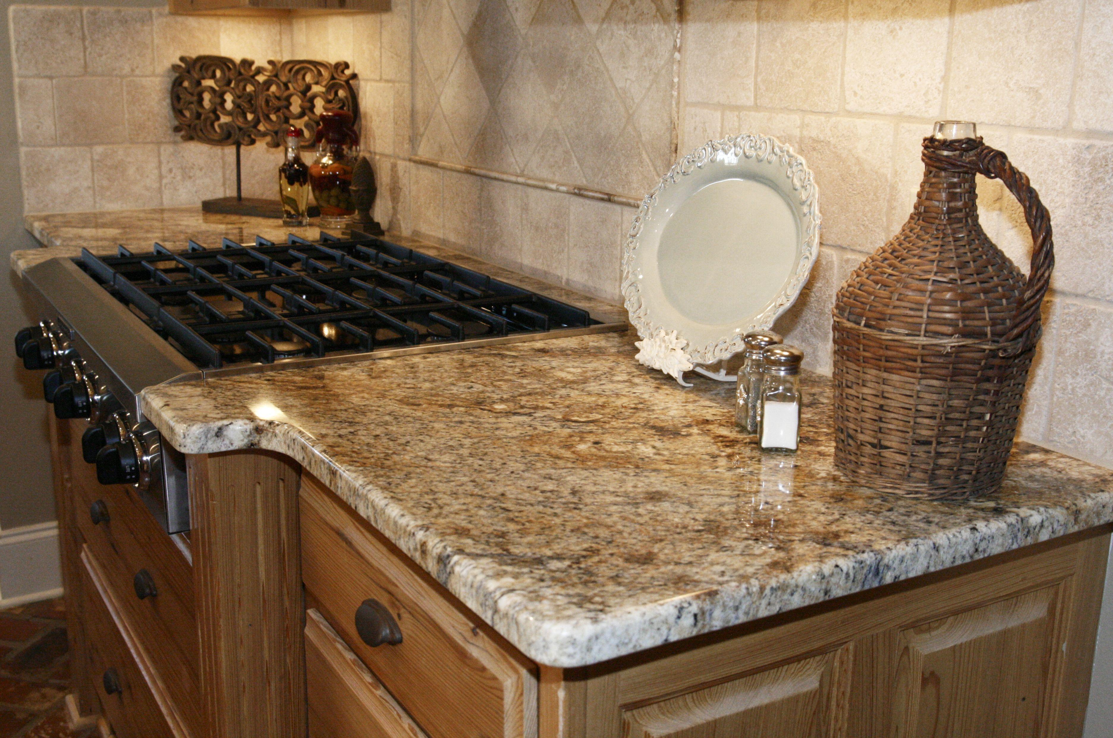 Golden Crystal Granite Granite Countertops Kitchen Kitchen